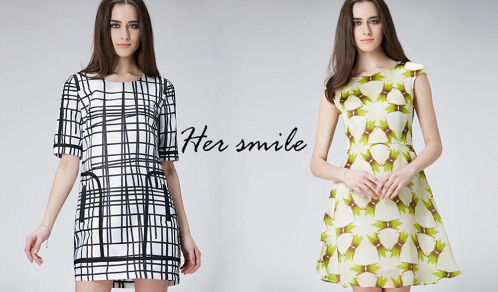 和颜her smile