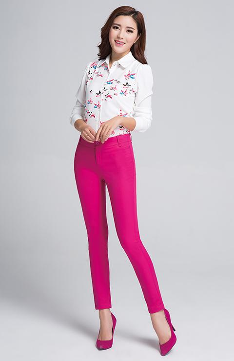 玉立佳人女裤