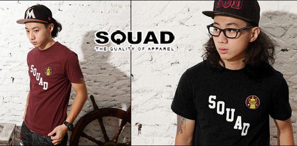史考特SQUAD品牌男装美式休闲风格