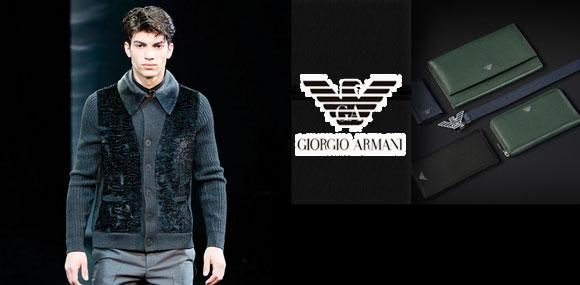 乔治·阿玛尼男装显示中性风格