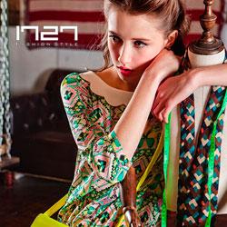 1727—High Fashion时尚前沿中的自然精致少女装