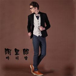 阿里郎男鞋寓潮流时尚于含蓄大气之中