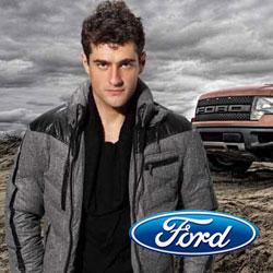 福特男装闪现汽车元素和后时尚潮流