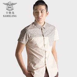 卡堡龙男装创中国商务唐装品牌服饰