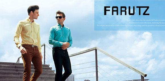法鲁茨男装缔造时尚个性的休闲生活形象