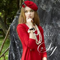 圣格瑞拉女装--将女性的幽雅时尚展示的淋淋尽致