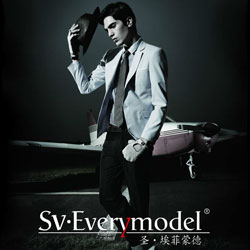 SV.Everymodel定位追求时尚潮流的新锐男士