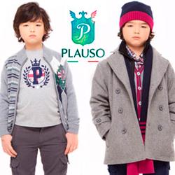 PLAUSO童装--每个家庭都能消费的起的意大利童装高档品牌
