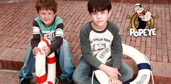 大力水手童裝重視兒童著裝的安全、舒適和健康