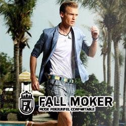FALL MOKER高档商务休闲男装诠释出男性特有的优雅高贵
