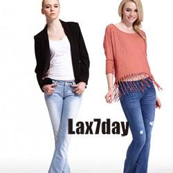 lax7day牛仔装--引领都市快时尚消费新趋势