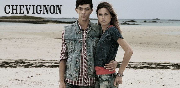 Chevignon牛仔是都市潮流型人的不二追求