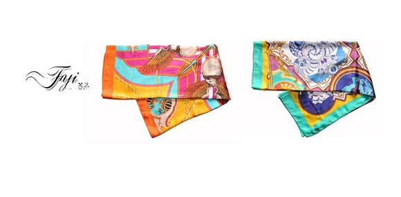梵艺方巾艺术装点人生,品质引领潮流